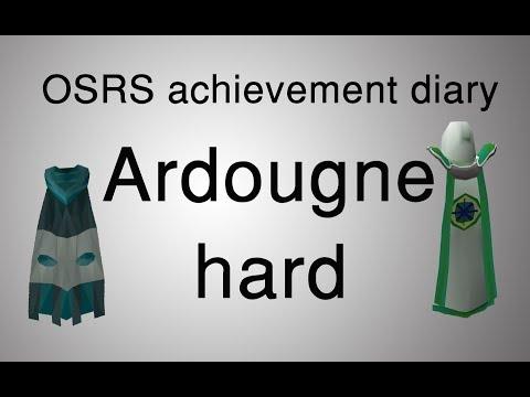 [OSRS] Ardougne hard diary tasks guide