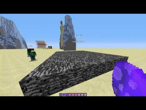 How to make a mountain in minecraft with one command block -