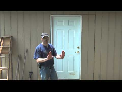 How to make a 4 foot wide door on a shed - with embellishments