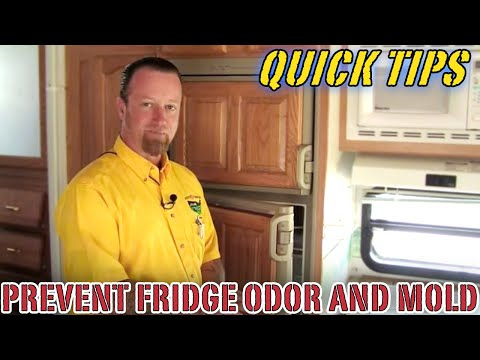 How to Prevent Fridge Odor and Mold When Not in Use   Pete's RV Quick Tips