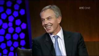 The Late Late Show: Ryan Tubridy interviews Tony Blair