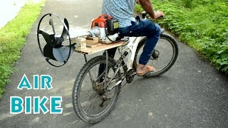 How To Make Air Bike With 43cc Grass Cutter Engine
