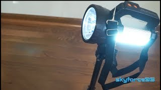 IKAAMA Rechargeable 10000mAh 6000 Lumens Spotlight Review