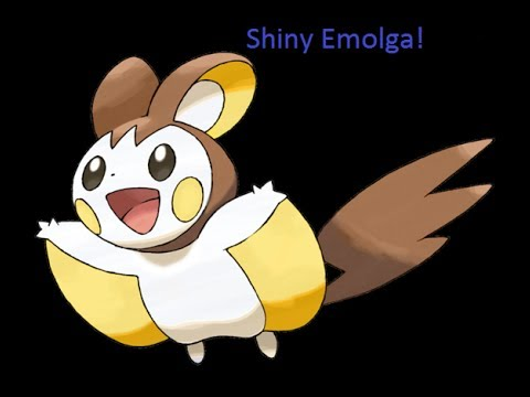 5th On Youtube! Shiny EMOLGA in Pokemon X! After 2 REs :)