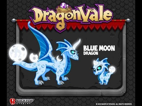 *LEGIT* How To Breed A Blue Moon Dragon In DragonVale!+ Evolutions!