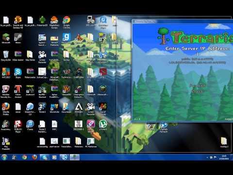 Terraria how to join/create a hamachi server