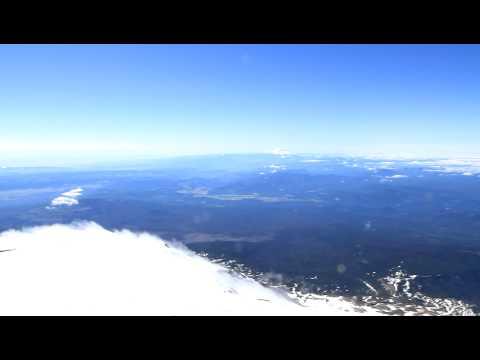 Summit Mt Adams Washington.  Clear Day.