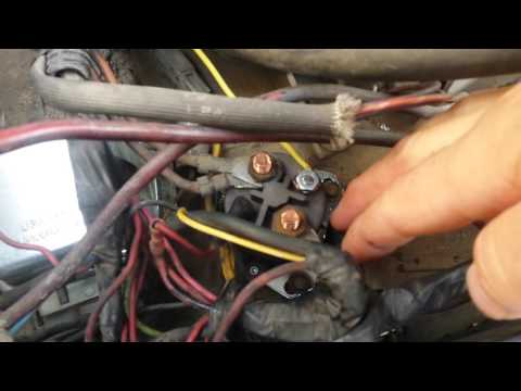 1983 Ford F250 6.9 Diesel Glow Plug Relay Manual Bypass