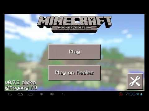 Descargar Minecraft Pocket Edition 0.7.2