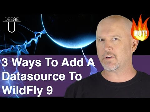 ★ 3 ways how to add a datasource to Wildfly 9
