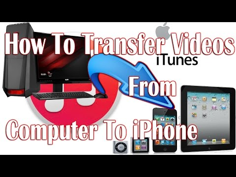 How To Transfer Videos From PC to iPhone