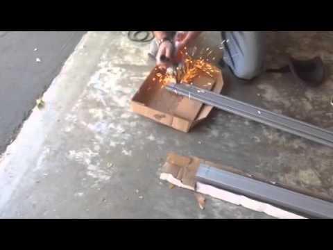 Cuttin metal