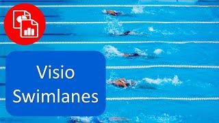 Create A Swim Lane Flowchart In Visio