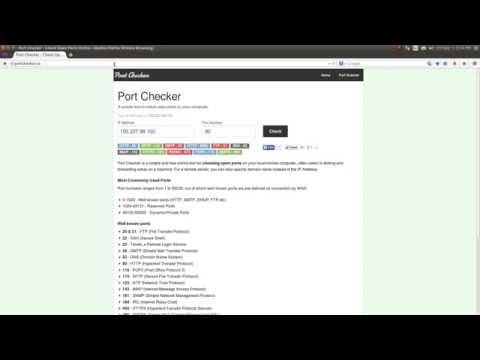 Open Port Checker Tool - Test Port Forwarding