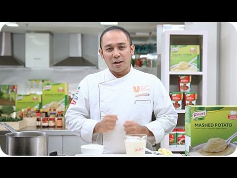 Great Tasting Mashed Potato from Knorr - Presented by Chef Gun Gun