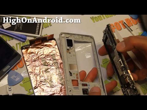 How to Disassemble Galaxy Note 4 for Repair!