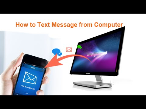 How to Text Message from Computer