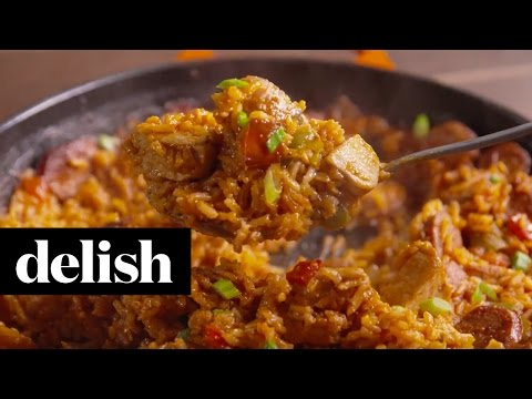 Cajun Rice Bake | Delish