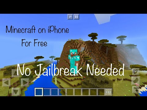 How To Download Minecraft PE For Free On iPhone | No Jailbreak 2018