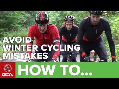How To Avoid Common Winter Cycling Mistakes