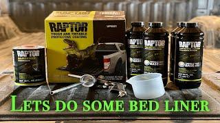 Lets apply UPOL Raptor bed liner!!