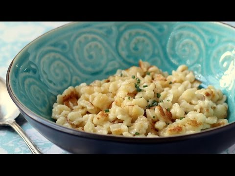 Spaetzle -- homemade noodles in 20 minutes!
