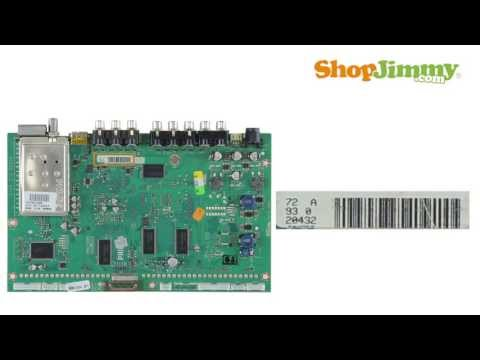 Philips Magnavox Main Boards TV Part Number Identification Guide for DIY TV Repair Help