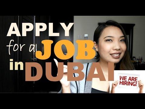 APPLY for a JOB in DUBAI- Vlog 2 in Taglish