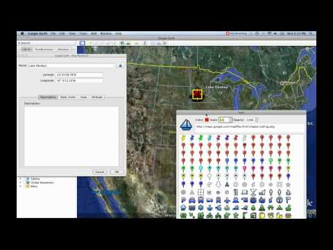 3- Placemark Tool [Google Earth Tutorials]
