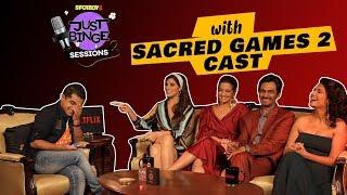 Sacred Games 2 Interview | Ganesh Gaitonde aka Nawazuddin Siddiqui gets Candid | Just Binge Sessions