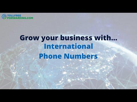 International Phone Numbers Made Easy | TollFreeForwarding.com