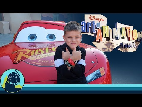 KIDS FIRST TIME FLYING! DISNEY'S ART OF ANIMATION CARS FAMILY SUITE TOUR!