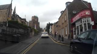 Drive To The Castle In Stirling Scotland