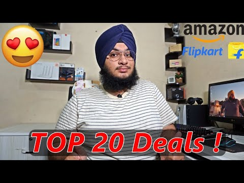 Best 20 Deals On Amazon & Flipkart Sale 🔥🔥