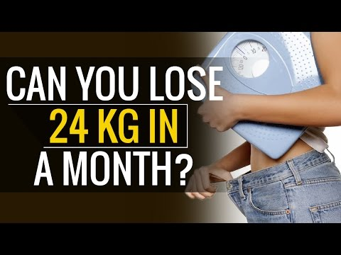 How to Lose Weight | Can I Lose 24 kg Weight in a Month?