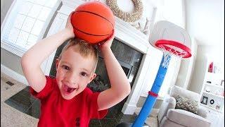 FATHER SON HOUSE BASKETBALL!  /  H.O.R.S.E.
