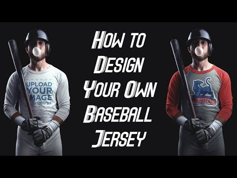 How to Make a Baseball Jersey Template