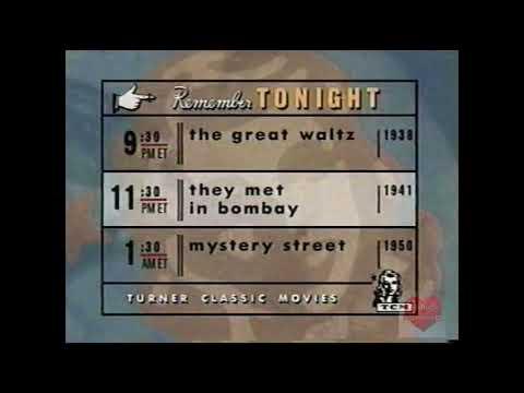 TCM | Remember Tonight | Bumper | 1999 | Turner Classic Movies