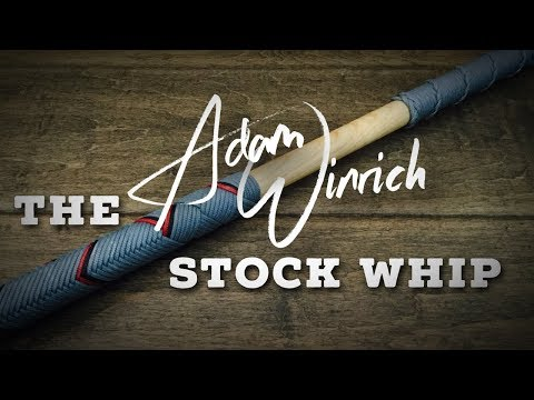 The Adam Winrich Style Stock Whip - CW Showcase