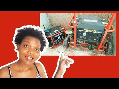 Follow me to Buy a Power Generator   Sumec Firman ECO 10990ES