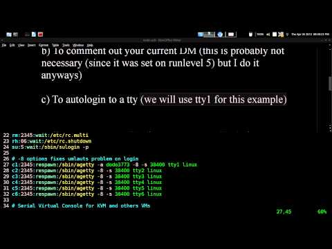 Booting Without A Display Manager Arch GNU / Linux