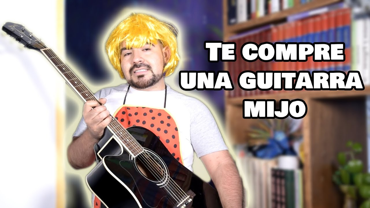 Cuando te regalan tu primer guitarra -JCesartv