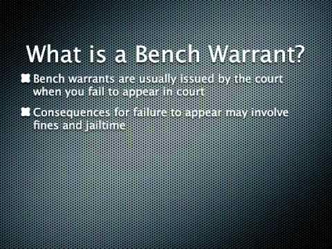 Arrest and Bench Warrants in Louisiana | Louisiana Criminal Lawyer