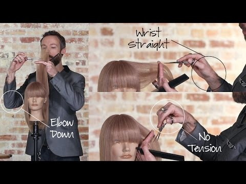 Why Using a Swivel Shear to Cut Hair is More Comfortable
