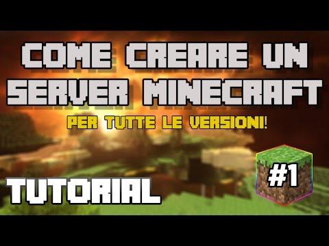 Tutorial #1 - Come creare un server Minecraft con i Plugin (No Hamachi)
