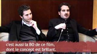 Interpol - Interview with Daniel & Carlos in Paris
