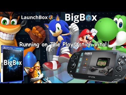 Launchbox (BigBox) Running On PS Vita