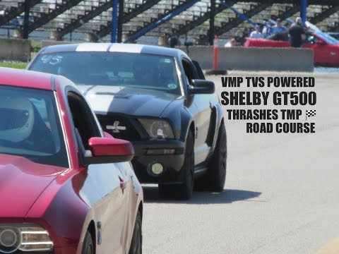 Modded SHELBY GT500 THRASHES Road Course  🏁