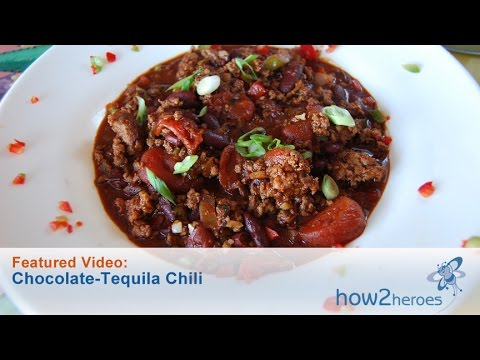 Chocolate-Tequila Chili