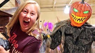 Pumpkin King Rules The Halloween Store
